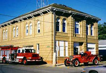 Lockhart Fire Department building located at 201 West Market Street