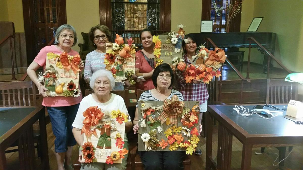Adult Craft Night at the Library,