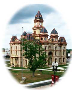 Caldwell County Courthouse located at 110 South Main Street.